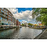 Puzzles Rompecabezas, Amsterdam Canal Adultos Niños DIY Ocio Entretenimiento Juego Divertido Juguete 500/1000/1500/2000/3000/4000/5000/6000 Piezas 0113 (Color : Partition, Size : 3000 Pieces)
