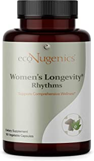 EcoNugenics Women's Longevity Rhythms Multivitamin Supplement for Women with Blend of 37 Herbs, Vitamins, Minerals and Ant...