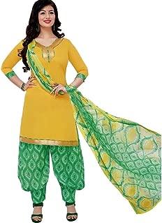 Ready to Wear Patiala Salwar Printed Cotton Salwar Kameez Suit