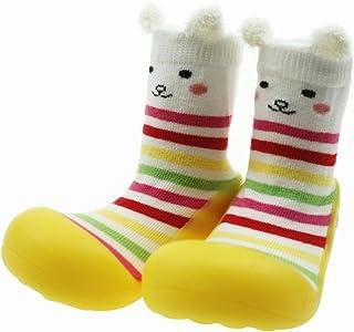 Calcetines Bebé Niños y Niñas Antideslizantes Zapatos Pantuflas de bebé