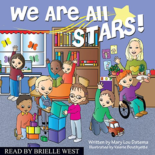 We Are All Stars! audiobook cover art