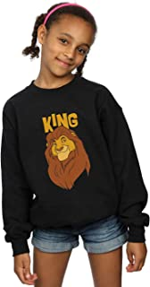 Disney Girls The Lion King Mufasa King Sweatshirt