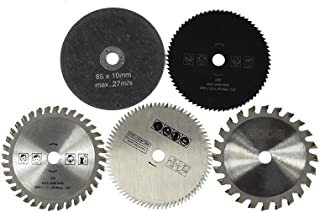 5Pcs 32mm Stainless Steel Saw Slice Metal Cutting Disc Rotary Tools、Pop