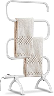 Homeleader Towel Warmer and Drying Rack, Heated Towel Rack, Wall Mount & Free..