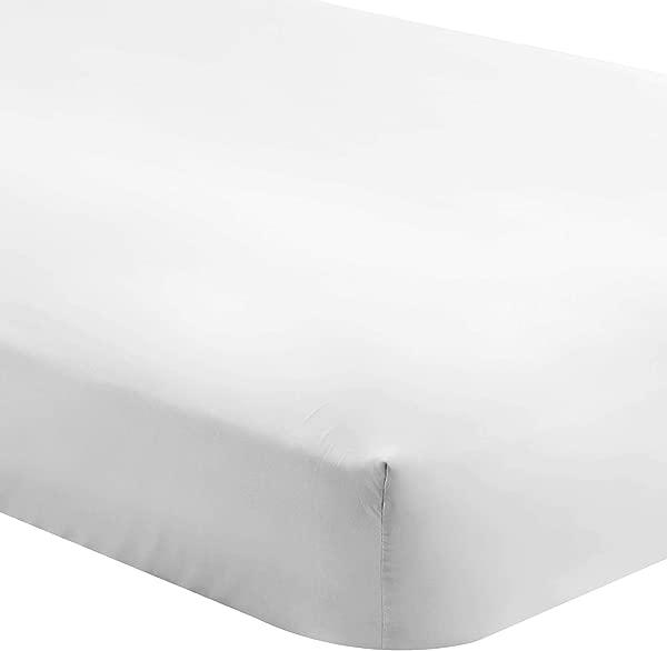 Bare Home Fitted Bottom Sheet Split Head Flex King Premium 1800 Ultra Soft Wrinkle Resistant Microfiber Hypoallergenic Deep Pocket Split Head Flex King White