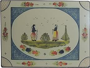 Lady Clare Placemats - Quimper Mistral Blue - Set of 4