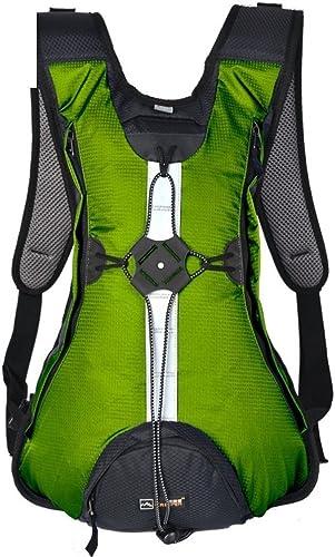 sac à dos éclairage extérieur Sac à Dos Sacoche de vélo Package Sac extérieur Sac de Sport d'équitation Vert 20L