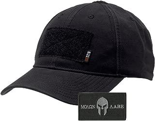 Gadsden and Culpeper 5.11 Flag Bearer Cap Bundle (Molon Labe Patch + Hat)