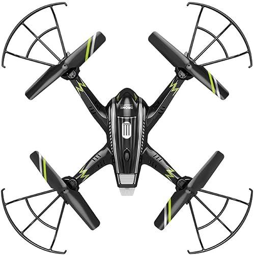 Vuelta de 10 dias Drone, fotografía aérea Aviones de Cuatro Ejes con luz LED LED LED 720P HD cámara, Built-in giroscopio de Seis Ejes Durable Adecuado para Niños y Volando en la Noche  tienda en linea