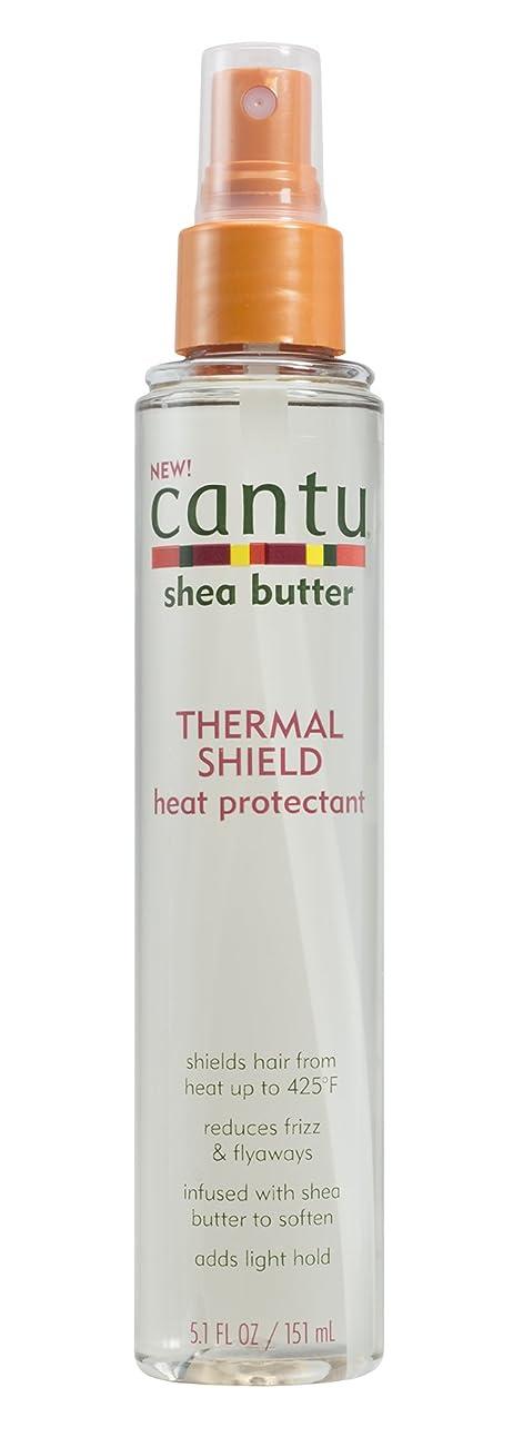 Cantu シアバター熱シールドヒートプロテクタ、5.1液量オンス