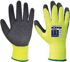Portwest A140 Thermische Handschoen met Grip, Normaal, Grootte M, Zwart