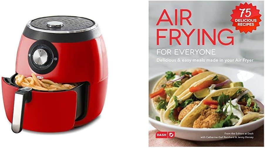 Dash Deluxe Electric Air Fryer + Cooker Very popular! Max 58% OFF 6 Quart 1700-Watt Oven