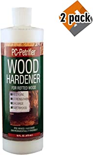 PC Products PC-Petrifier Water-Based Wood Hardener, 16oz, Milky White 164440, 2 Pack