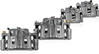 Callahan CCK04790 [4]FRONT + REAR Semi-Loaded Premium Original Calipers + Clips [for Ford Mustang SHELBY Base GT S197]