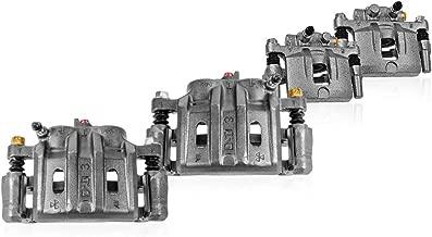 Callahan CCK04297 [4] FRONT + REAR Semi-Loaded Premium Original Calipers + Hardware Brake [ for Honda Accord Sedan V6 ]
