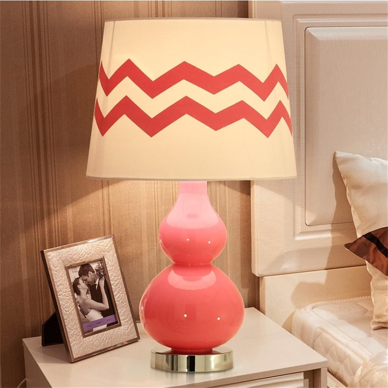 HOME-Modern und einfach Rosa kreative Kürbis Nachttischlampe B01AXGUZ9Q       Ausgezeichneter Wert