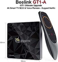 Beelink GT1 A Ultimate TV Box DDR4 3GB RAM 32GB ROM Amlogic S912 Octa Core 1000Mbps LAN/Dual WiFi 2.4G+5.8G/H.265 4K Smart TV Box