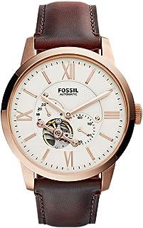 Fossil Townsman Analog Beige Dial Men's Watch - ME3105