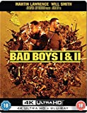 Bad Boys I&II Steelbook Collection UK 4K Ultra HD & Bluray Exclusive Pop Art Steelbook Blu-ray Region Free