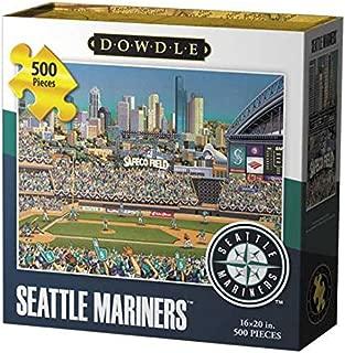 Dowdle Folk Art Seattle Mariners Jigsaw Puzzle (500  Pieces)