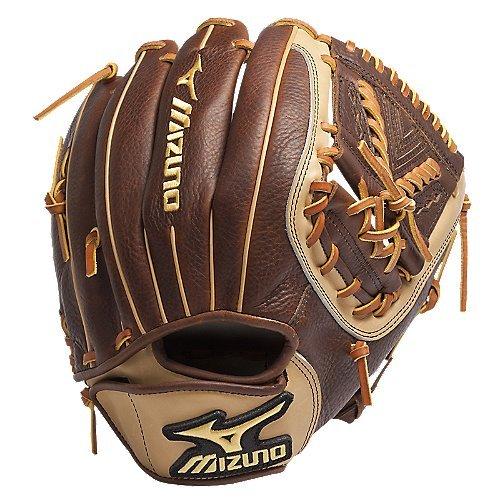Mizuno GCF1253 Classic Fast Pitch Softball Fielder's Mitt (Peanut, 12.50-Inch, Right Handed Throw)