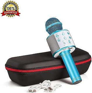 Karaoke Microphone Wireless With Bluetooth Speaker -...