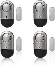 Door Window Alarm Home Security Magnetic Sensor Burglar Wireless 120dB Pool Alarms for Kids Safety, Women, Elders, Easy In...