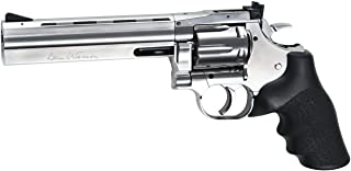 "ASG Dan Wesson 715 CO2 Airgun Revolver 6"", Silver"