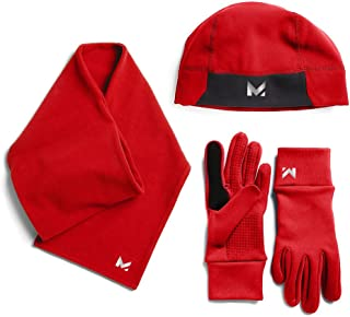 MISSION Womens Mission Women's radiantactive Performance Beanie, Scarf, Glove Set F12395-P
