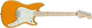 Fender Duo Sonic Electric Guitar - Maple Fingerboard - Capri Orange