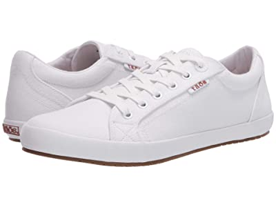 Taos Footwear Star (White/White) Women