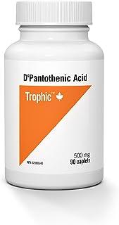 Trophic D-Pantothenic Acid 500mg 90 Caplets