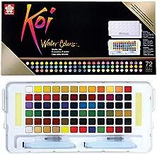 Sakura XNCW-72N Studio Watercolor Set, 72 Colors, Assorted
