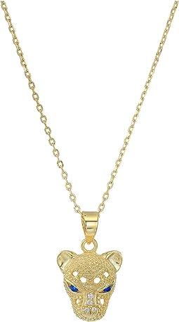 SHASHI Panther Pendant Necklace