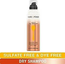 Sulfate Free Dry Shampoo, Dye Free Nourishing Treatment, Citrus, Hair Food, 4.9 FL OZ