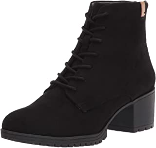 US: 6.5 Black Womens Sports Ankle Booties,Claystyle Women Ladies Autumn Shoes Fashion Ankle Solid Loafers Single Shoes Short Boots