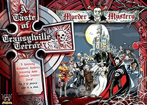 Ace HALLOWEEN Murder Mystery Dinner Party Game : A Taste of Transylville Terror