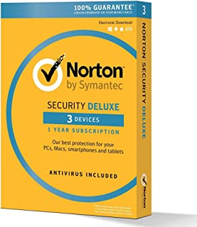Norton Security Deluxe - 3 Devices (PC Software)