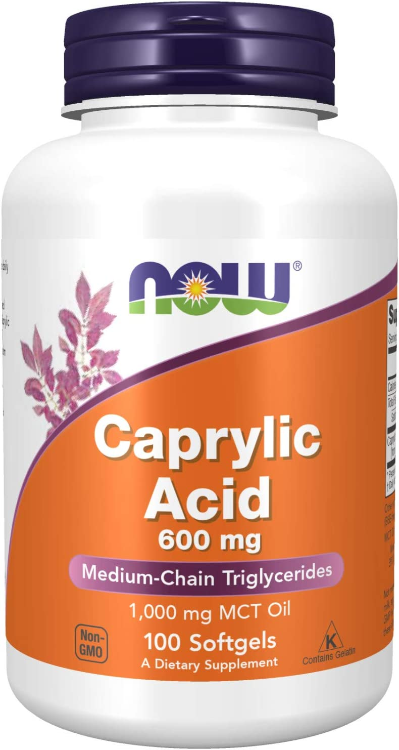 Now Detroit Mall Foods Supplements Caprylic free shipping Acid Trigly 600 mg Medium-Chain