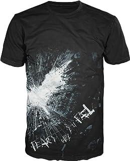 Batman Dark Knight Fear Hombres Black Camiseta