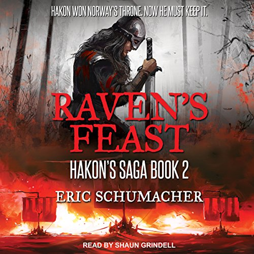 Raven's Feast audiobook cover art