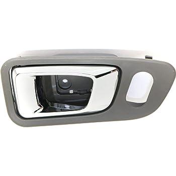 Amazon Com Door Handle For 2003 2008 Honda Pilot With Dark Gray Housing Front Left Inner Automotive