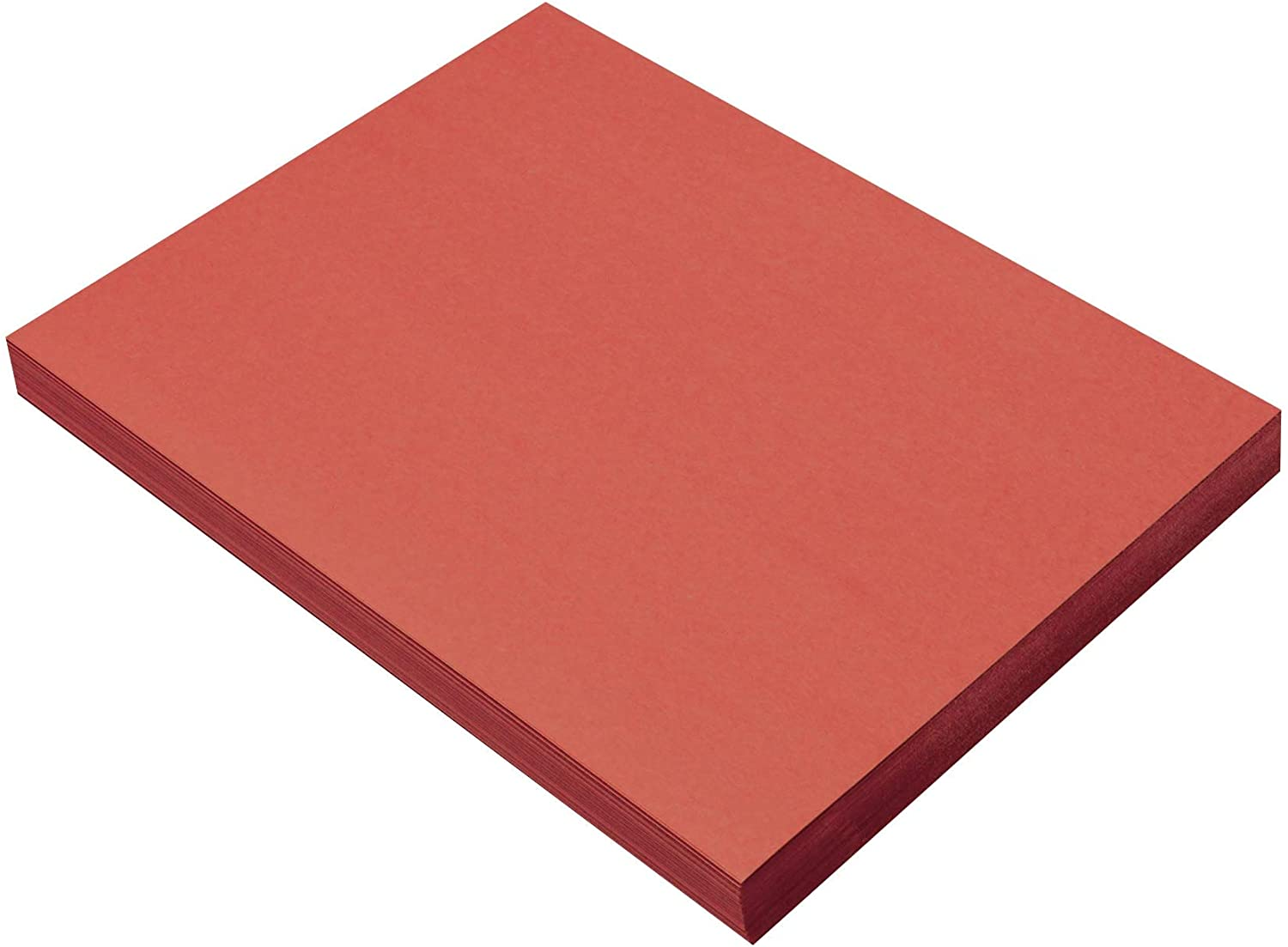SunWorks Heavyweight Construction Paper, 9 x 12 Inches, Red, 100 Sheets