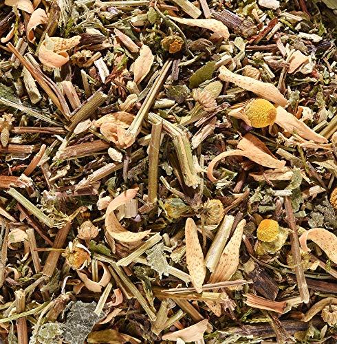 ✅ ABENDBROT-Tee • Kräutertee • Lassen Sie den Tag ausklingen mit Melissenblätter, Heidekraut, Pfefferminze, Kamille, Orangenblüten, Erdbeerblätter• Ohne Aroma • Ohne Coffein 210g