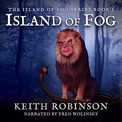 Island of Fog, Book 1 audiobook cover art
