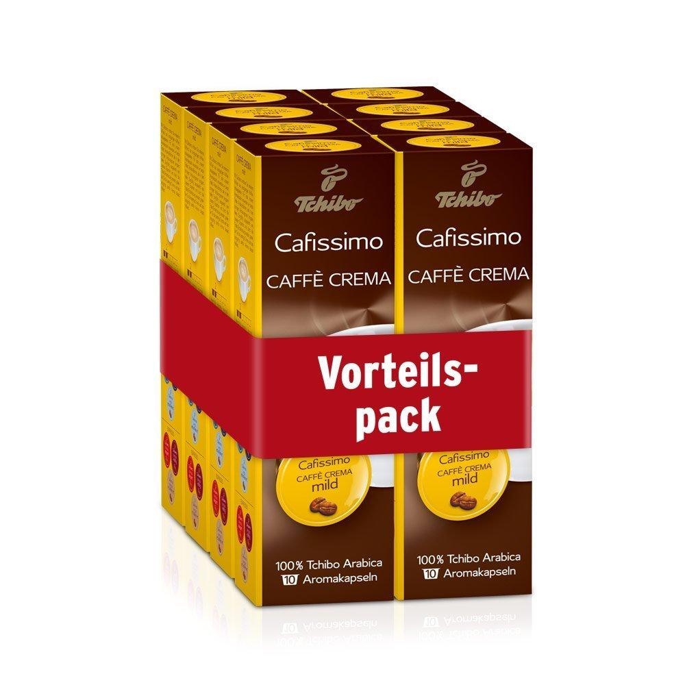 Tchibo Discount mail order Cafissimo Caffè Crema capsules Bargain mild 80