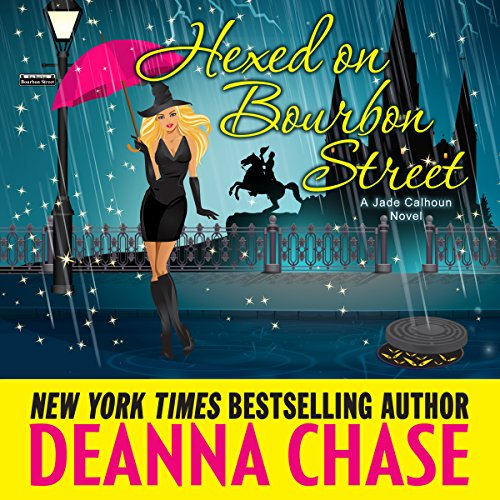 Hexed on Bourbon Street audiobook cover art