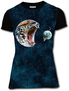 Aslgisy Running Pizza Casual T-Shirt Short Sleeve for Kids