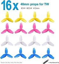 BETAFPV 4 Sets 40mm 3-Blade Props 1.0mm Shaft for 720 Motor Tiny Whoop Quadcopter Beta75 BNF