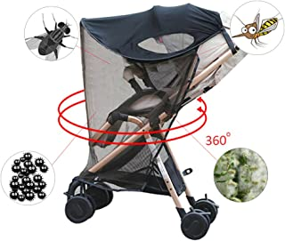 Coaste Baby Anti-UV Cloth Rayshade Stroller Cover Windproof Rainproof Sun Protection Umbrella Awning Shelter Universal Accessories